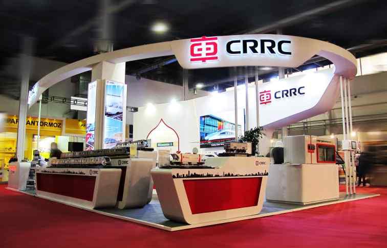 CRRC، نمایشگاه صنایع ریلی